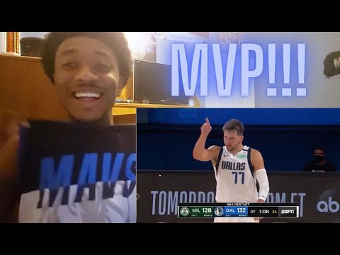 Luka Doncic Triple-Double 36 PTS 19 Ast 14 Reb Reaction!!! | Bucks vs Mavericks