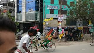 preview picture of video '29-10-2018, Journey To Signboard - Jatrabari By Rickshaw'