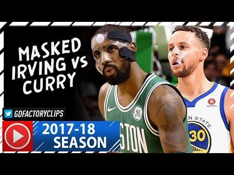 Kyrie Irving vs Stephen Curry PG Duel Highlights (2017.11.16) Celtics vs Warriors - DRAMA!