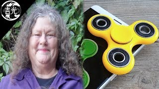 La cruel historia de la creadora del Fidget Spinner