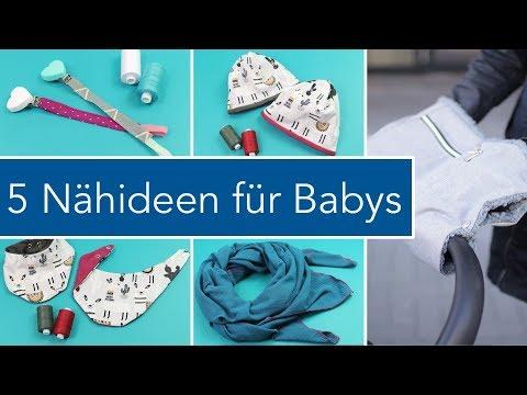5 Last Minute Baby Geschenke nähen