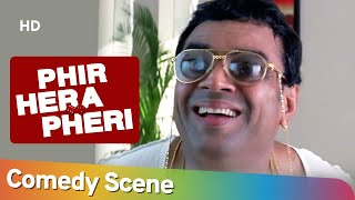 क्या बाबुराव क्रोरेपति बन जायेगे ?   Phir Hera Pheri Movie Best Comedy Scenes