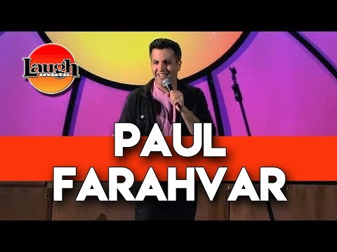 Paul Farahvar   Relationship Advice from Adult Playdates   Laugh Factory Chicago Stand Up Comedy
