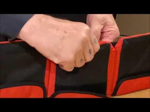 AKM-Scuba Diving Pocket Weight Belt Large Black 6 Pocket