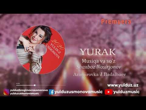 YULDUZ USMONOVA -YURAK(AUDİO)