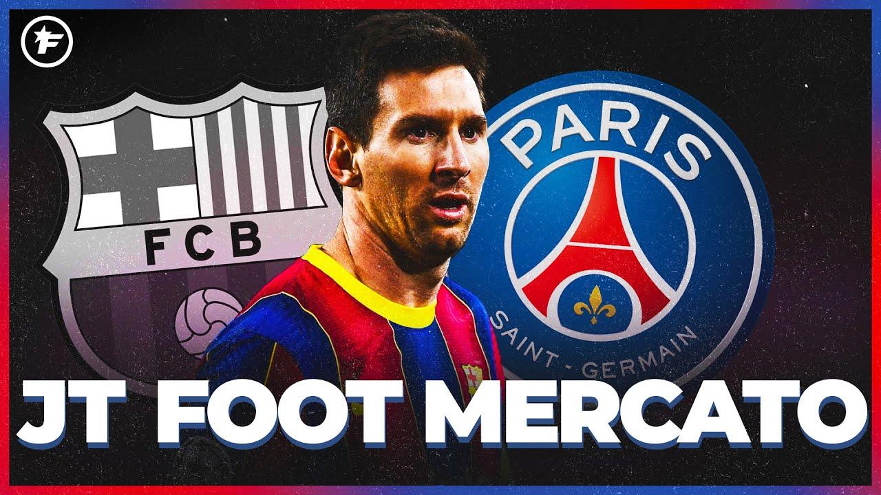 Le PSG en pole position pour signer Lionel Messi   JT Foot Mercato