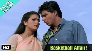 Basketball Affair! - Movie Scene - Kuch Kuch Hota Hai - Shahrukh Khan, Kajol