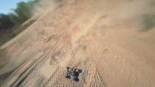 FPV rc car chase