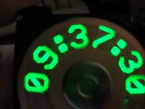How To Turn A Hard Drive Into An LED Clock