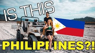 INCREDIBLE Filipino Adventure, Mt Pinatubo! We Never Expected This In Philippines
