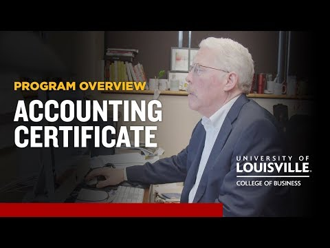 Online Certificate in Accounting: Become a CPA - YouTube