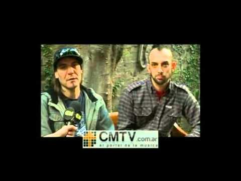 Carajo video El mar de las almas - Entrevista CM 2012