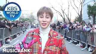 [Spotted at Music Bank] 뮤직뱅크 출근길 - (G)I-DLE, HA SUNG WOON, MONSTA X, Jang Dong Woo[2019.03.08]