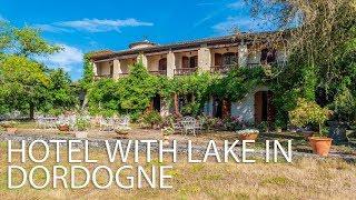 Hotel Restaurant & Lake With 11 Bedrooms For Sale Dordogne - Aquitaine Ref : 82909DG24