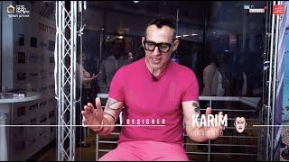 Karim Rashid | קארים ראשיד בראיון בלעדי בוועידת האדריכלות והעיצוב של מרכז הבנייה 2019