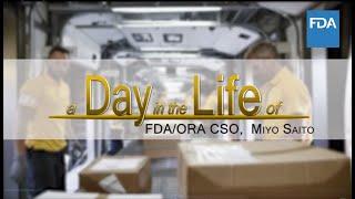 A Day in the Life of FDA/ORA Consumer Safety Officer, Miyo Saito