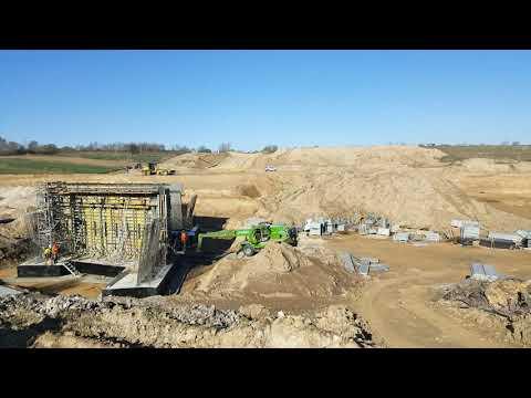Prace przygotowawcze pod budowę drogi ekspresowej S19 - obiekt WD-35 - OUD