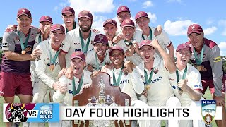 Bulls clean up the Blues to win Shield title | Marsh Sheffield Shield 2020-21