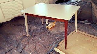 #1 Urządzamy stary dom - jak pomalować stół farbą kredową?