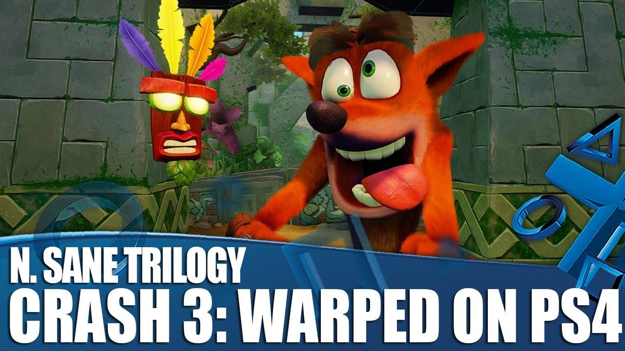 Crash Bandicoot N. Sane Trilogy - Primo sguardo a Crash 3: Warped su PS4!