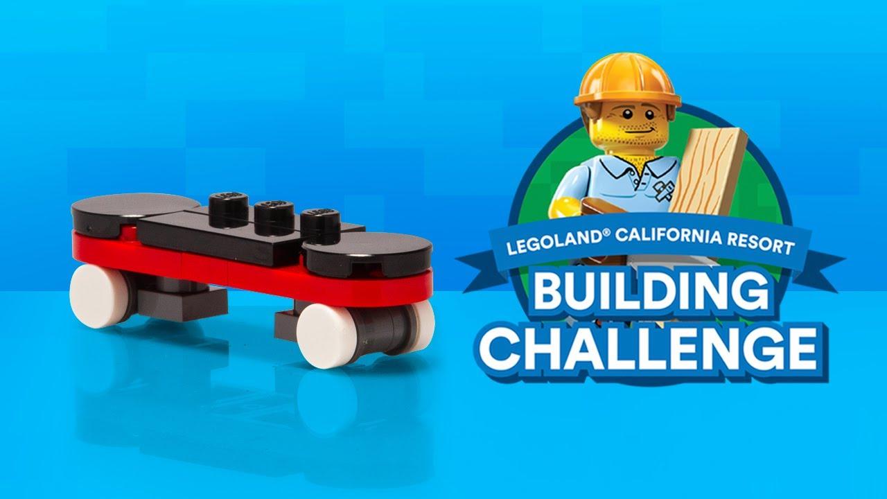 LEGO Skateboard Build