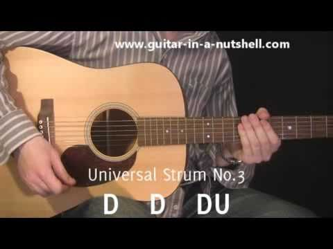 Guitar Lessons - My Top 3 Guitar Strums!