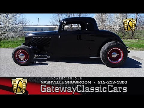 Video of Classic 1933 Ford Coupe located in La Vergne Tennessee Offered by Gateway Classic Cars - Nashville - N0FP