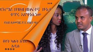 LTV WORLD:LTV SHOW:''የአማራ ህዝብ ኢትዮጵያን በመመስረት ሂደት ውስጥ የአንበሳውን ድርሻ ይወስዳል'' የአብን ሊቀመንበር ዶ/ር ደሳለኝ ጫኔ