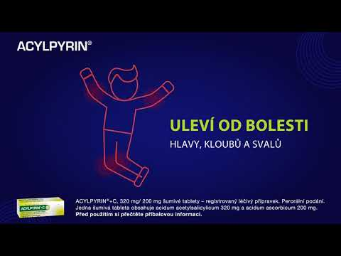 _label_product_video ACYLPYRIN 500MG neobalené tablety 10