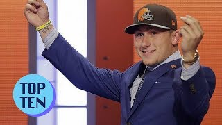 Top 10 NFL Draft Busts of All Time