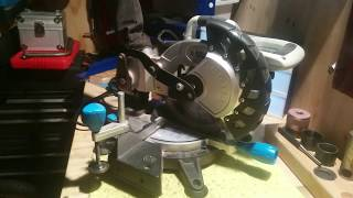 MAC ALLISTER COMPOUND MITRE CHOP SAW