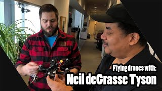 Flying FPV Drones with Neil deGrasse Tyson at the Hayden Planetarium