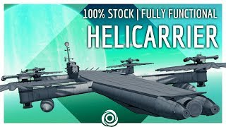100% STOCK HELICARRIER to Laythe!   KSP 1.4.5