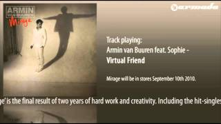 Armin van Buuren feat. Sophie - Virtual Friend