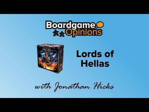 Boardgame Opinions: Lords of Hellas