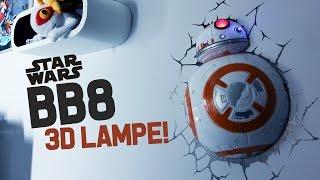 bb8 star wars 3d lampe wie geil ist das denn