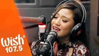 "Morissette performs ""You And I"" LIVE on Wish 107.5 Bus"
