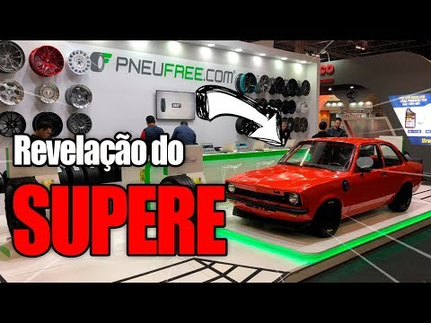 REVELAÇÃO do CHEVETTE SUPERE!! Ft. Auto Super no Salão do Automovel