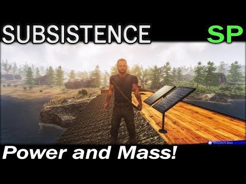 Power and Mass! | Subsistence Single Player Gameplay | EP 34 | Season 5