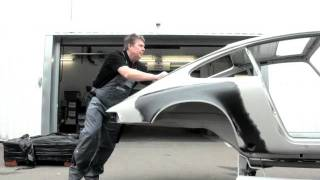 Porsche 911 T - Revive the Passion: Paint Shop Process