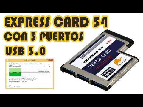 Instalación correcta Express Card USB 3 0 - Correct installation Express Card USB 3.0