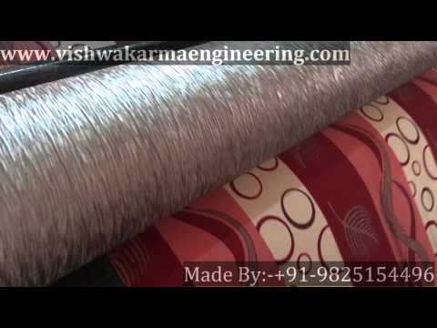 Fabric Male Female Embossing Machines