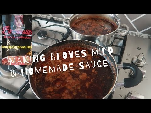 MAKING BLOVES NEW MILD & HOMEMADE SAUCE + MILD SAUCE GIVEAWAY (CLOSED!)