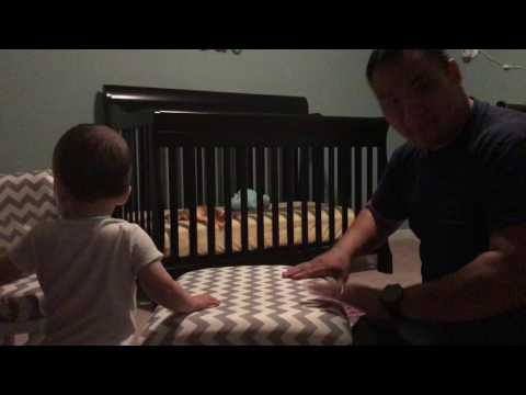 Drumming session with dad