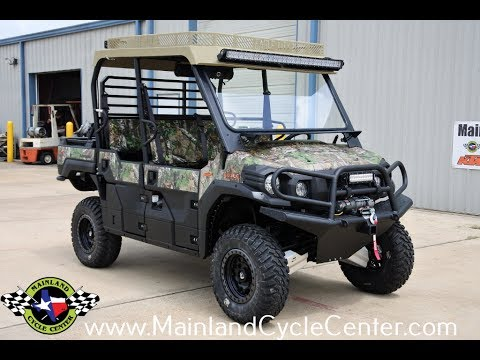 2017 Kawasaki Mule PRO-FXT EPS Camo in La Marque, Texas - Video 1