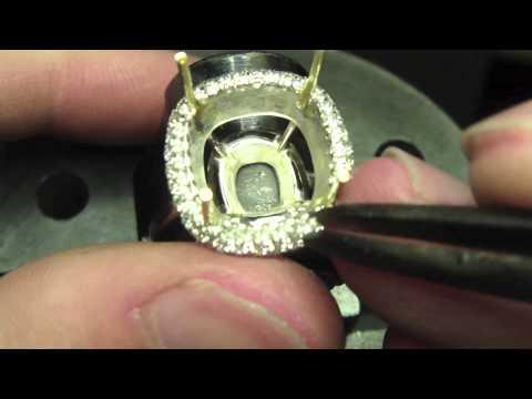 כך מכינים טבעת אזמרגד בעבודת יד