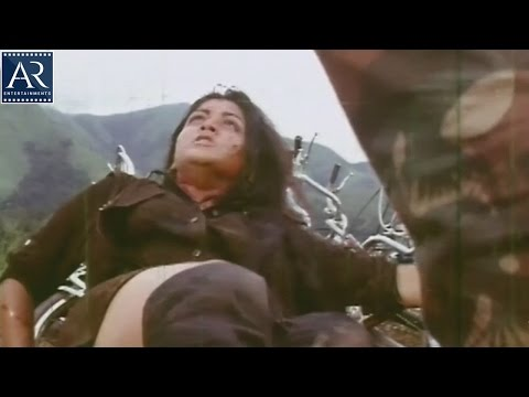 Police Bullet Movie Scenes | Rajinikanth Saved Girl fron Villains | AR Entertainments