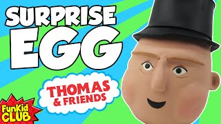 THOMAS THE TRAIN!! Play-Doh Surprise Egg!! SIR TOPHAM HATT! HUGE Thomas and Friends Play-Doh Egg!