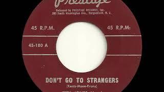 Etta Jones Don´t Go To Strangers Prestige 180, 08 60