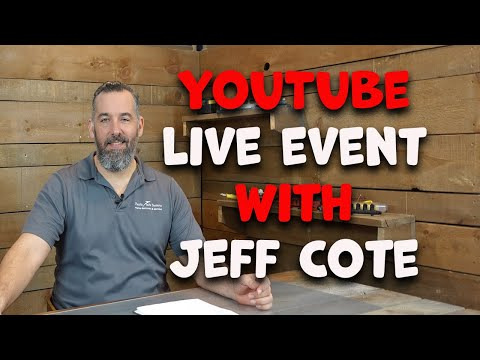 Live Stream with Jeff Cote - March 21, 2021